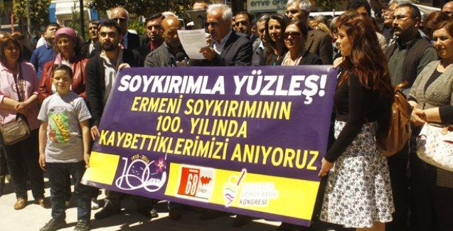 Mersin'de soykırım anması: Geçmişle yüzleşip, Ermeni halkından özür dilemeliyiz