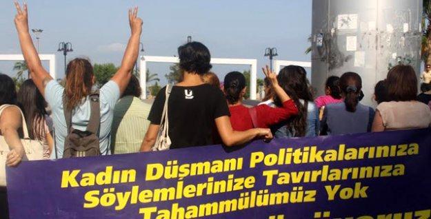 Mersin'e giden Erdoğan'a kadınlar burada da sırtını döndü