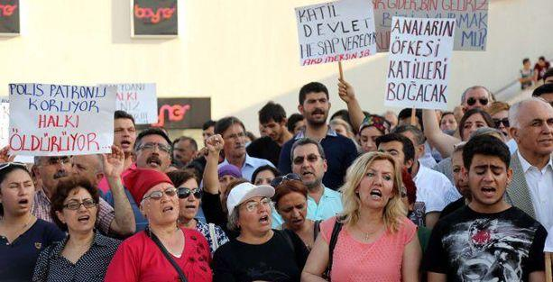 Mersin'de Uğur Kurt eylemi sonrası polis saldırısı