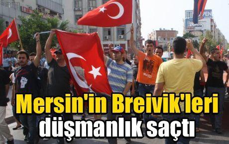 Mersin'in Breivik'leri düşmanlık saçtı