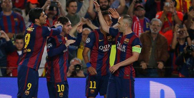 Messi 3 dakikada 2 gol attı: Barcelona finale 'çok yakın'