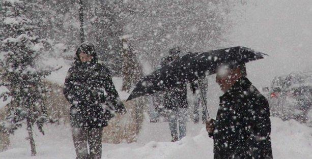 Meteroloji'den kar uyarısı