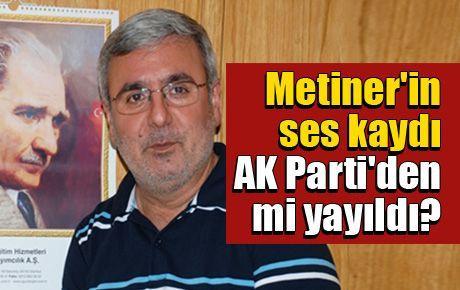Metiner'in ses kaydı AK Parti'den mi yayıldı?