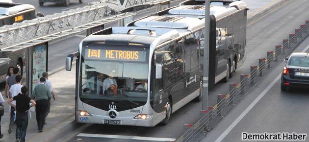 Metrobüs seferlerini de durdurdular