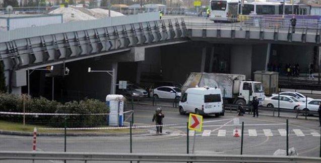 Metrobüs'te bomba paniği