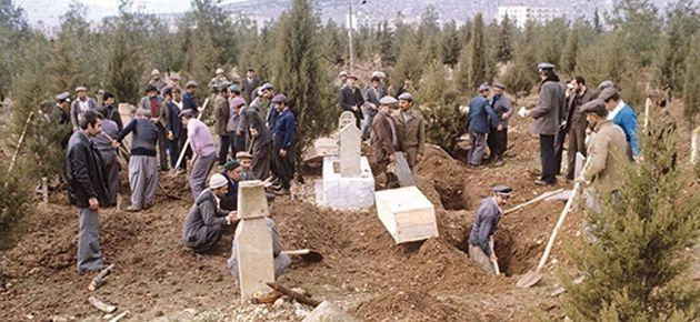 Mezarları kaybedenlere dava yok