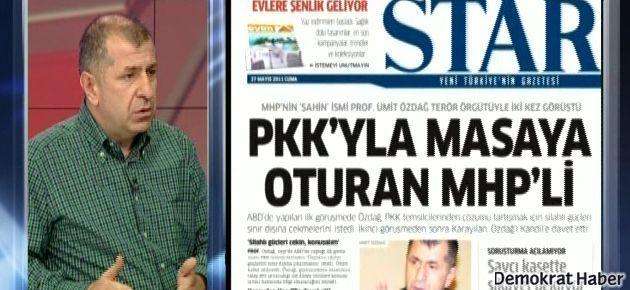 'MHP, PKK ile müzakere etmez' diyen Özdağ PKK ile görüşmüş