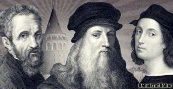 Michelangelo, Leonardo ve Raphael, İstanbul'da
