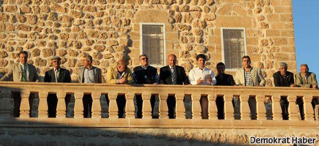 Midyat'ta farklı halklardan Roboski açıklaması