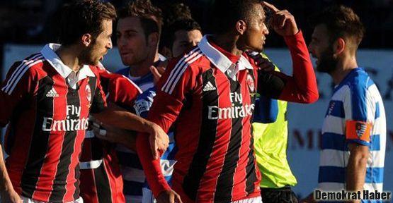 Milan'lı futbolculardan ırkçılık protestosu: Sahayı terk ettiler