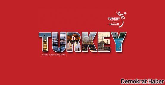 MIPIM'de Onur Ülkesi Türkiye