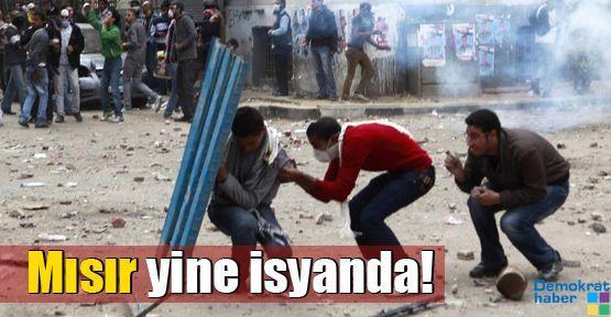 Mısır yine isyanda!