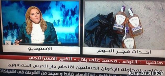 Mısır'da da 'Camide içki içildi' yalanı