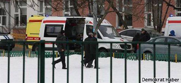 Moskova'da okul baskını: 2 ölü