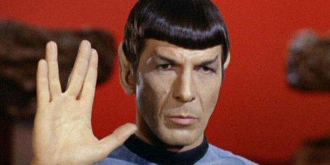 'Mr. Spock'un bu işareti ne anlama geliyor?