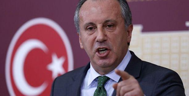 İnce Grup Başkanvekilliği'nden istifa etti, genel başkanlığa aday