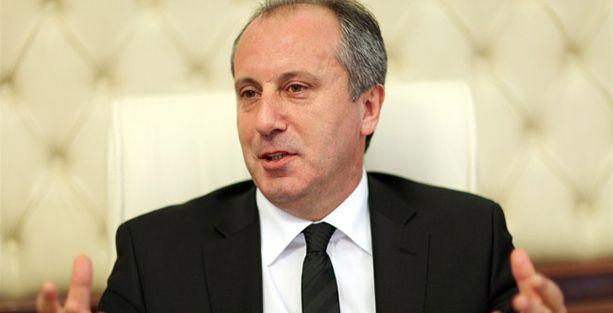 Muharrem İnce: AKP erken seçime gidecek