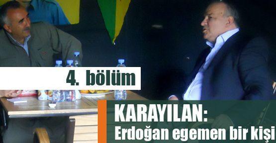 Murat Karayılan: Erdoğan egemen bir kişi!