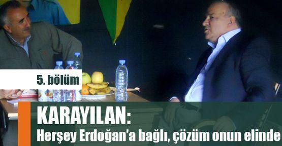 Karayılan: Her şey Erdoğan'a bağlı!