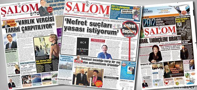 Musevi gazetesi Meclis'e girdi