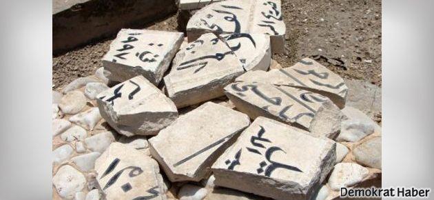 Müslüman mezarlarına saldırı