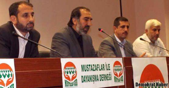 Mustazaf-Der kapatılmayı protesto edecek