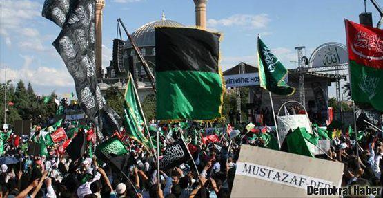 Mustazaf-Der'in kapatılması protesto edildi