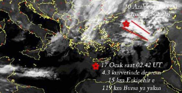 NASA, Eskişehir'deki depremi 5 gün önceden bildi