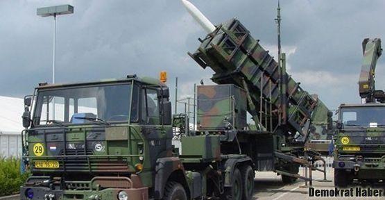 NATO'dan Patriot için onay çıktı