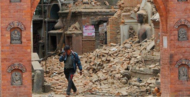 'Nepal'deki deprem, Hiroşima'yı yıkan atom bombasının 20 katına eşit'