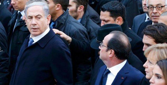 Netanyahu'dan 'Hangi yüzle Paris'e gitti' diyen Erdoğan'a yanıt