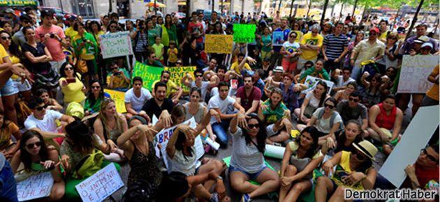 New York'ta 'Gezi' dayanışması