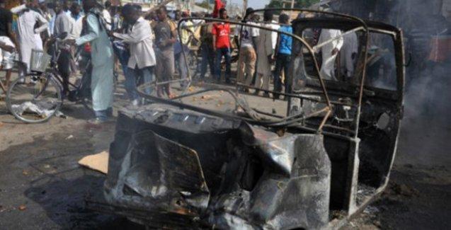 Nijerya'da bombalı saldırılarda onlarca kişi öldü