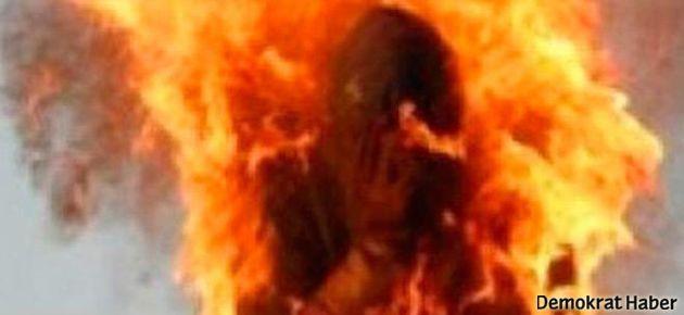 Nişanlısıyla gezdi diye diri diri yakıldı