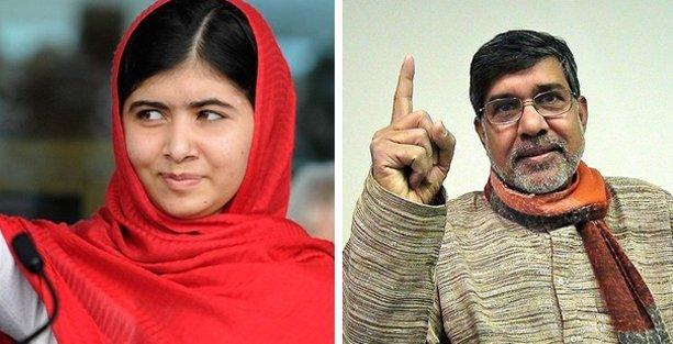 Nobel Barış Ödülü çocuk hakları aktivistlerine verildi