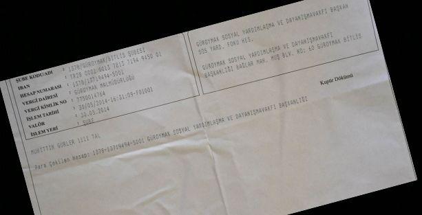 Norşin'de seçim öncesi nakit para yardımı iddiası