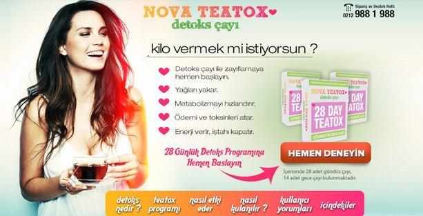 Nova Teatox Çayı İle Detoks Yapılır Mı?