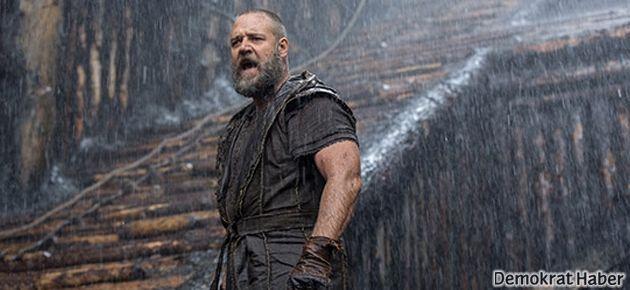 Nuh'un gösterileceği salonu su bastı