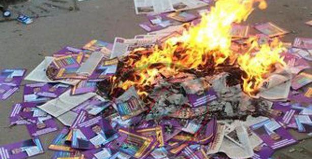 Nurtepe'de Halk Cepheliler ile HDP'liler arasında çatışma!