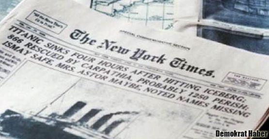 NY Times: Türkiye, operasyonlarını durdurmak zorunda!