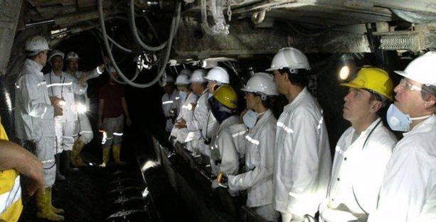 O maden ocağı ilk kez görüntülendi