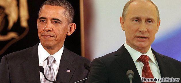 Obama'dan Putin'e: Sen döndün aramız açıldı