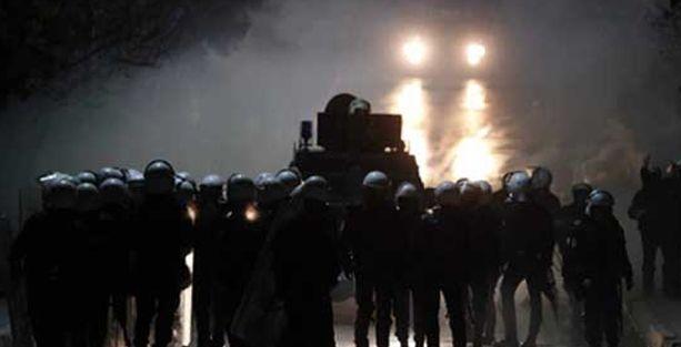 ODTÜ'deki Okmeydanı protestosuna polis saldırısı