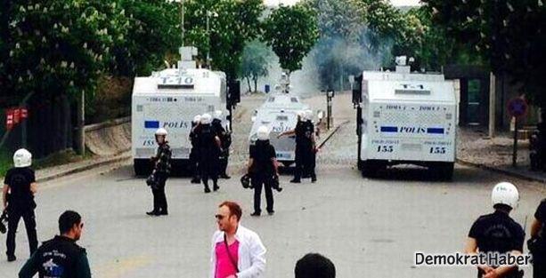 ODTÜ'deki Soma eylemine polis müdahalesi