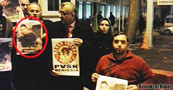 Oğlunun 'fotoğraf'ını taşımak suç unsuru sayıldı