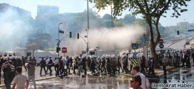 İstanbul'da da Reyhanlı protestosuna gaz