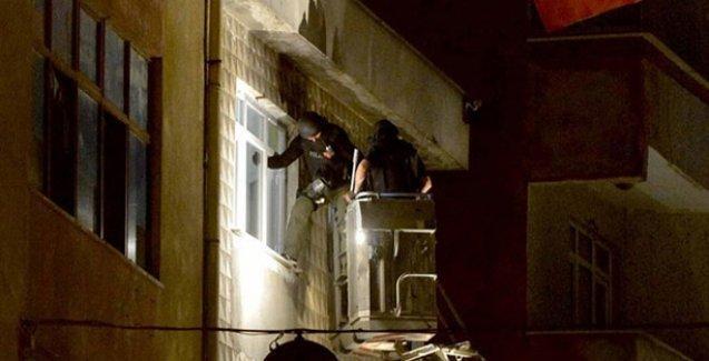Okmeydanı'nda polisin ev baskını, gözaltılar var