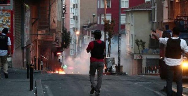Okmeydanı'nda polis ablukası ölüm getirdi!