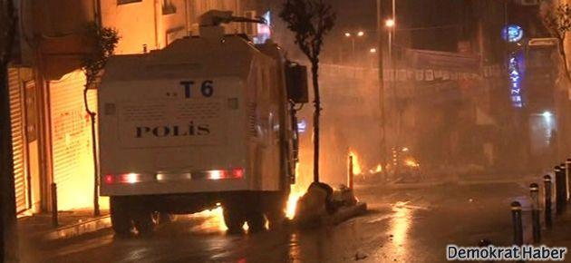Okmeydanı'nda polis saldırısı