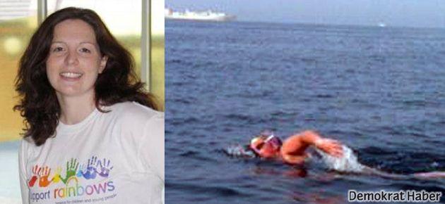 Ölümüne yüzdü!